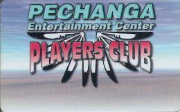 Pechanga Casino Calif - 1st Issue Slot Card (Blank) - Casino Cards