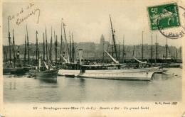 BOULOGNE SUR MER(PAS DE CALAIS) BATEAU YACHT - Boulogne Sur Mer