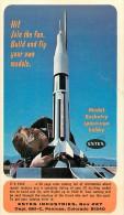 185695-Advertising Postcard, Estes Industries Model Rockets, Penrose, Colorado, Card No 1 - Pubblicitari