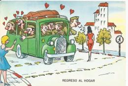 Z25 - POSTAL - REGRESO AL HOGAR - Postales