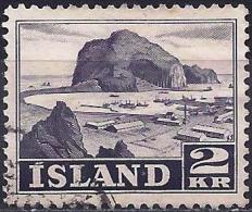 Iceland 1950 - Vestmannaeyjar Island ( Mi 269 - YT 232 ) - Usati