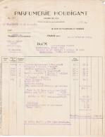 1929 PARFUMERIE HOUBIGANT 19 FAUBOURG ST HONORE PARIS - 1900 – 1949