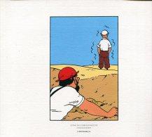 Magnifique  Serigraphie  Ou Lithographie  Ex Libris  24x19   Cm  Tintin  Crabe Pinces D'or - Ex-libris