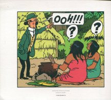 Magnifique  Serigraphie  Ou Lithographie  Ex Libris  24x19   Cm  Tintin  Et Les Picaros - Ex-libris