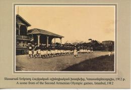 Arménie : The Armenian Genocide Museum Yerevan : A Scene Of The Second Armenian Olympic Games Istambul 1912 Sports - Armenië
