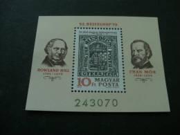E293-  Bloc MNH Hungary -1979-  SC. 2607-  stamp day -Rowland Hill