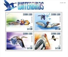 Sierra Leone. 2015 Waterbirds. (319a) - Birds