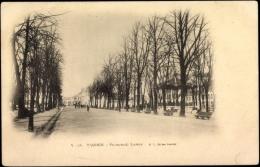 Cp Tarbes Hautes Pyrénées, Promenade Larrey, Pavillon - Other Municipalities