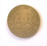 Kenya - 10 Cents 1967 - - Kenya