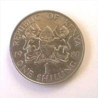 Kenya - 1 Shilling 1980 - - Kenya