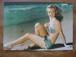 Carte Postale Postcard C586 MARILYN MONROE - Unclassified
