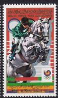 1988 LIBYENNE, JAMAHIRIYA ARABE Libya  ** MNH �quitation horse riding Reiten Pferd H�pica [AW03]