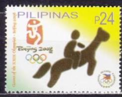 2008 PHILIPPINES  Mi.Nr. 4097 ** MNH �quitation horse riding Reiten Pferd H�pica [AX55]