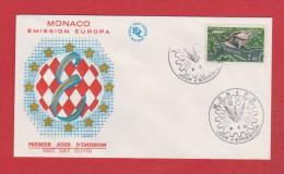 Monaco  // Premier Jour    //   Emission Europa  //  6/6/62 - FDC