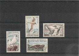 T.A.A.F Années 1959/63 N° Y/T 12/13A** Côte :17,00 € - Unused Stamps