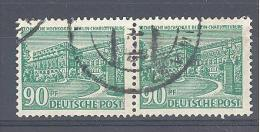 Michel #  56/56  Pärchen Mit Plattenfehler  IV + V - Engraving Errors