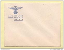 Vicenza  Aeroporto Civile P. Trevisan Busta Con Fascio Anni 30 - Unclassified