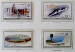 GRANDS OUVRAGES DE MACAO 1998 - NEUFS ** - YT 3639/42 - MI 2972/75 - Ongebruikt