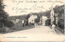 Belgique  CHAUDFONTAINE  Rue De L'Eglise - Chaudfontaine