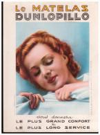 Buvard Cartonné  MATELAS DUNLOPILLO (PPP1727) - Buvards, Protège-cahiers Illustrés