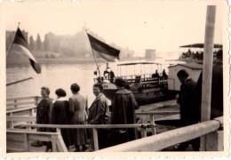 Photo Originale Bateau - Excursion � bord du Muhlberg - 3 photos - Ausflug an Bord M�hlberg