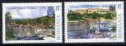 ROMANIA 2007 Danube Shipping  Set Of 2  MNH / **.  Michel 6252-53 - 1948-.... Republics