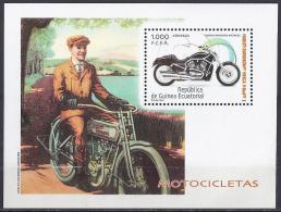MOTOS - GUINEA ECUATORIAL 2004 - EDIFIL #329 ** - Moto