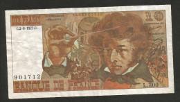 FRANCE - BANQUE De FRANCE - 10 FRANCS (1977) - BERLIOZ - Serie: L. 300 - 1962-1997 ''Francs''
