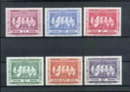 Belgisch Congo - COB 344/49  ** MNH                      J8525
