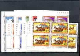 Belgisch Congo -  COB 350/61  ** MNH   blok van 4 - bloc de 4                 J8530