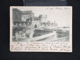"""INDE- CP Voyagée - BOMBAY """" Le Fort D'AGRA"""" - Lot N° 10022 - Inde"""