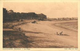 21 - CPA - PLOUHARNEL - La Plage - Animée - Collection Mme Le Goff - (n&b) - Bs2 - Altri Comuni