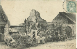 ROSOY.  Grande-Rue - Incendie Occasionné Par La Foudre, Le 2 Juillet 1905 - Otros Municipios