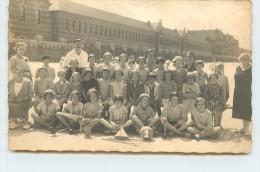 ZUYDCOOTE - Plage, Sanatorium,enfants Colonies De Lille,Carte Photo Louis Desbottes. - Non Classificati