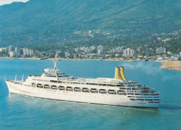 Ferry M.V. Canberra , WEST VANCOUVER , B.C. , Canada , 50-70s #2 - Transbordadores