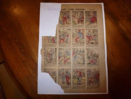Vers 1900 Imageries Réunies De Jarville-Nancy       RENIFLARD, CLERC D'EPICIER       Images Amusantes  Planche N° 1046 - Vieux Papiers