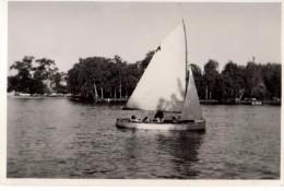 Photo Originale Bateau - Un Voilier le 10 juin 1935 - L�gende au dos - Freptanv ???