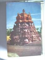 India Temple Madurai Minakshi - India