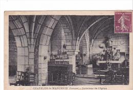 25508 CHATELUS Le MARCHEIX 23 - Intérieur De L´Eglise  -ed ? - Chateau Thierry