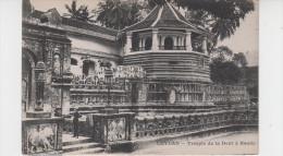 CEYLON / TEMPLE DE LA DENT à KANDY - Sri Lanka (Ceylon)