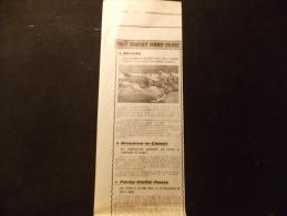 Coupure de presse Offre PROMO voir description Bi�vres Une Vingtaines de vehicules pieges sur le parking Citroen 9 DS