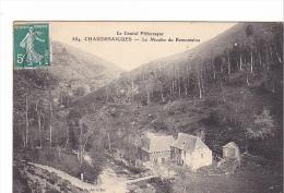 25510 CHAUDESAIGUES Le Moulin De Remontalou - Cantal Pittoresque 884 Roux Aurillac