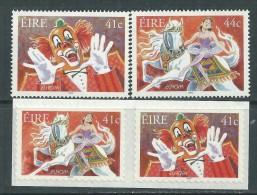 Europa 2002  Le Cirque :  Irlande N° 1439A/B + 1440/41  XX  Les 4 Valeurs Sans Charnière, TB - Europa-CEPT