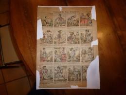 Vers 1900       Imagerie D'Epinal  N° 903   AVENTURES DE TOTO CITROUILLARD          Pellerin & Cie - Vieux Papiers