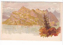 25514 RIGI BAHN Vitznau Bei Lyuern , Lac Cantons Vitznau -ed Nubacher - LU Lucerne