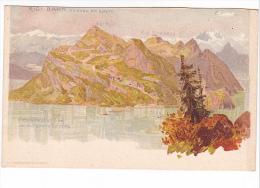25514 RIGI BAHN Vitznau Bei Lyuern , Lac Cantons Vitznau -ed Nubacher