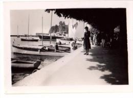 Photo Originale Bateau - Yachts au port - Plaisance - Promenade -