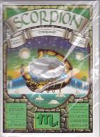 CPM ZODIAQUE  SCORPIONBALANCE   (carte Double Avec Enveloppe) PIERRE VERITABLE A L INTERIEUR   CITRINE - Ansichtskarten