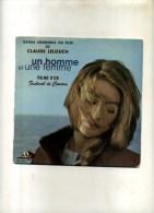 - UN HOMME ET UNE FEMME . MUSIQUE DU FILM . 45 T. - Filmmusik