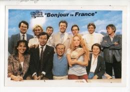 """ÉMISSION TÉLÉ DE TF1 . """" BONJOUR LA FRANCE """" . JEU CONCOURS ANNIVERSAIRE EN 1985 . JEAN-CLAUDE BOURRET - Réf. N°12196 - - Séries TV"""